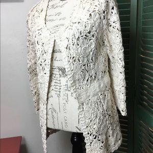 Miilla Cotton Lace Jacket